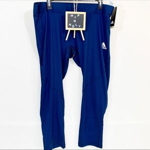 ADIDAS Tech Fit Compression Pants Navy XXL